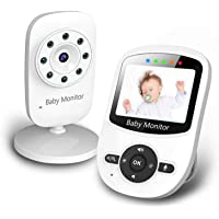 """Newbaby 2.4"""" Video Baby Monitor with Digital Color Camera, Wireless View Video, Two-Way Talk, Lullabies, Infrared Night…"""