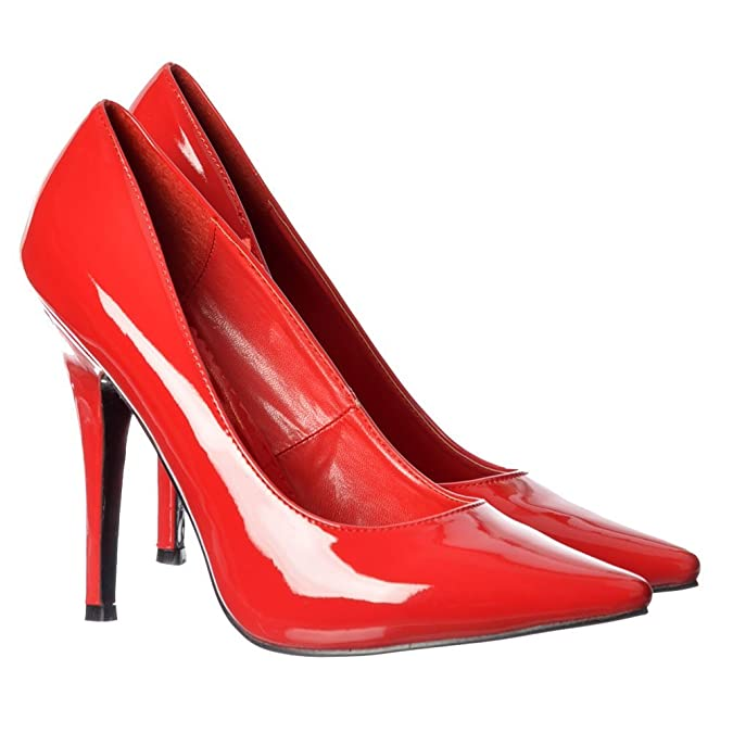 317e248abd Amazon.com | Onlineshoe Men's Women's Drag Queen Crossdresser High Heel  Pointed Toe Large Sizes | Pumps