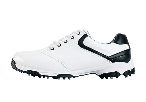 PGM Chaussures de Golf Imperméables Anti dérapantes avec des Crampons pour Les Hommes