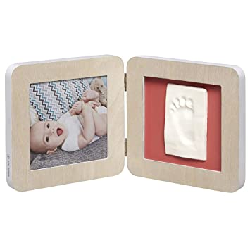 dcec8932 Baby Art My Baby Touch Photo Frame 2 Frames with Footprint Kit for Hand or  Foot