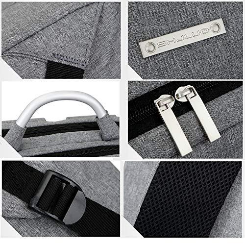 15 Zaino Meno Standardblue1 Inch deluxegray qualità 6in da per 12in laptop Laidaye onesize parata borsa 14in 13in di 8q87wTr