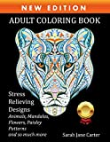 #3: Adult Coloring Book: Stress Relieving Designs Animals, Mandalas, Flowers, Paisley Patterns And Beautiful Artwork