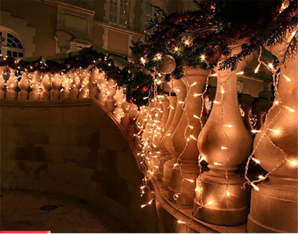 Weihnachtsdeko Innenbereich.216 Led 5m Eisregen Eiszapfen Lichter Led Lichtervorhang Lichter