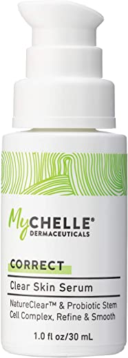 MyChelle Dermaceuticals Clear Skin Serum - Pore-refining Serum for oily & blemish-prone skin, Smooth & Matte Finish Skin, cruelty-free, 1.0 Fl Oz