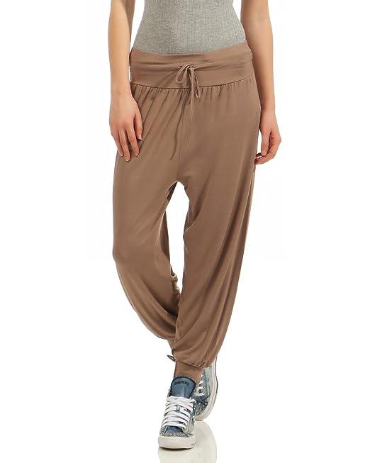 ZARMEXX Pantalones de Uniforme de Mujer en Estilo Harem ...
