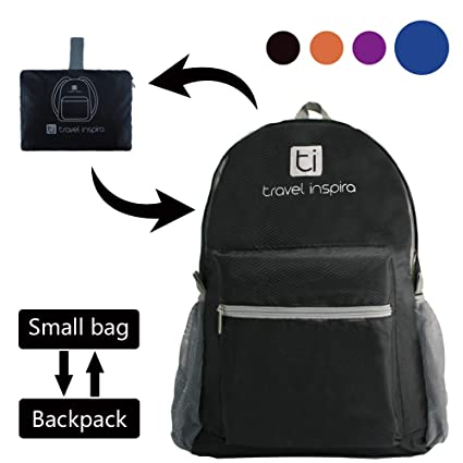 73811c103d3d travel inspira Ultra Lightweight Packable Backpack Water Resistant Hiking  Daypack,Small Backpack Handy Foldable Camping Outdoor Backpack Little Bag