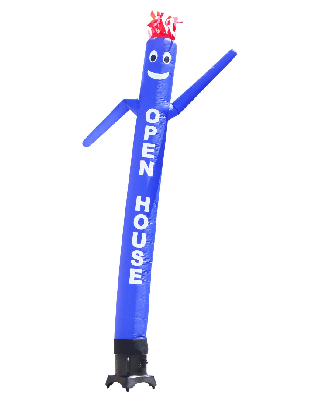 LookOurWay ''Open House Air Dancers Inflatable Tube Man Attachment, 10-Feet, Blue (No Blower) by LookOurWay