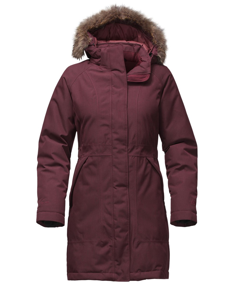 The North Face Arctic Parka レディース フード付き ロング ダウンコート B017UX9Q9K X-Small|Deep Garnet Red Heather Deep Garnet Red Heather X-Small
