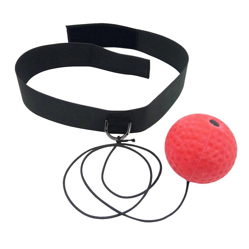 AimdonR Boxing Reflex Ball Training Hand Auge Koordination mit Stirnband Portable Boxing Punch Ball zur Verbesserung der Reaktion und Geschwindigkeit f/ür Training und Fitness