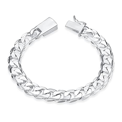 Amazon.com: Yaheeda - Pulsera de cadena de 0.394 in de ancho ...