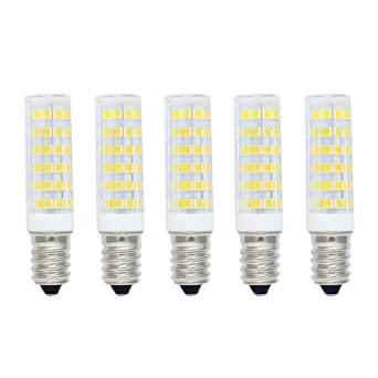 Bombilla LED 7W E14 Equivalente a Bombilla Halógena 60W 550LM Blanco Frío(6000K),