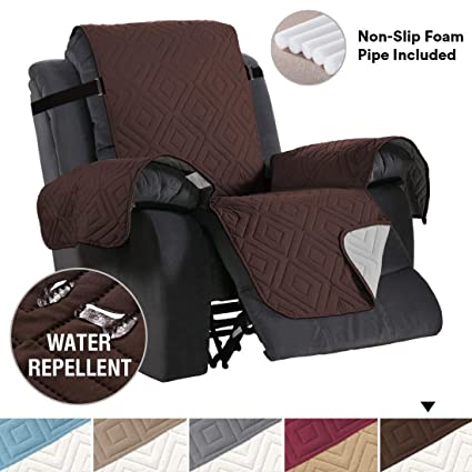 Superb H Versailtex Premium Reversible Couch Slipcover Oversized Recliner Chair Covers Seat Width To 30 Furniture Protector 2 Strap Washable Covers Pabps2019 Chair Design Images Pabps2019Com