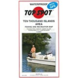 Amazoncom Top Spot Fishing Map From West Coast Florida Offshore - Map of west coast of florida