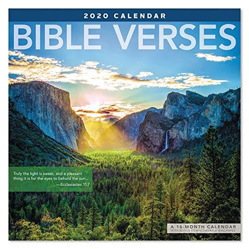 2020 Bible Verses Wall Calendar (LME2111020) ()