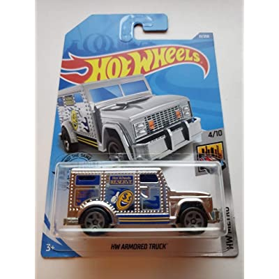 Hot Wheels 2020 HW Metro HW Armored Truck 31/250, Chrome: Toys & Games