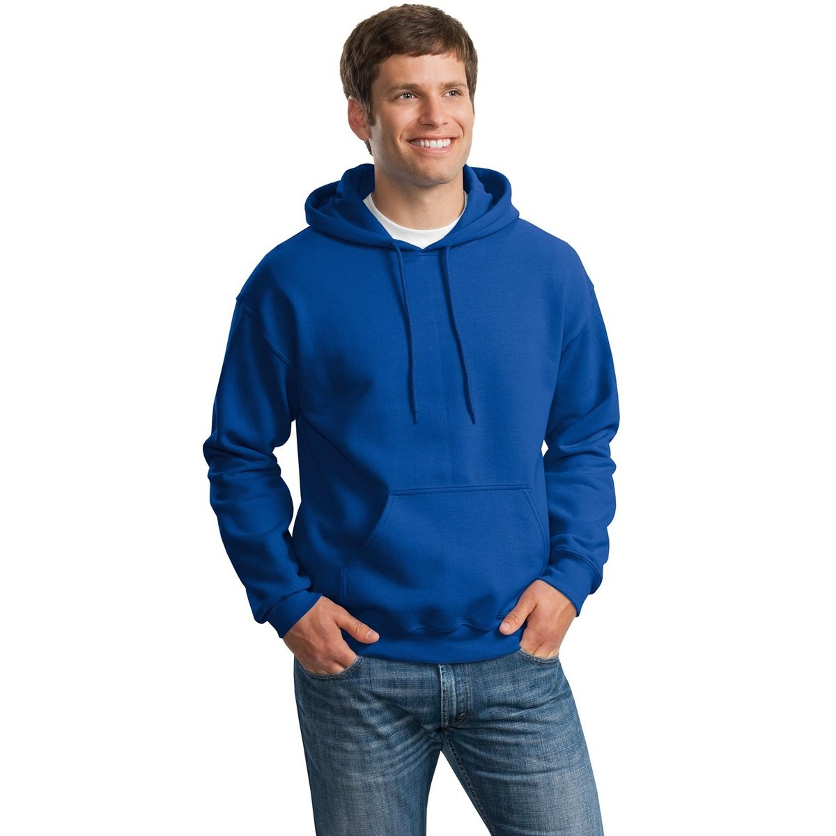 Royal Devious Apparel Gildan G12500 DryBlend Adult Hooded Sweatshirt
