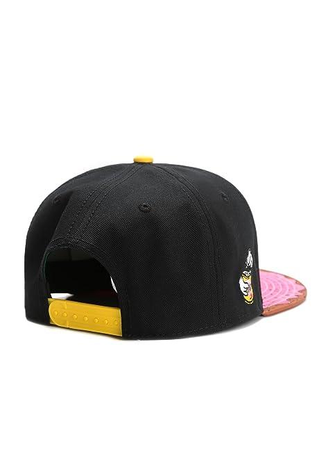 Cayler & Sons Snapback Cap - Munchies Black at Amazon Mens Clothing store: