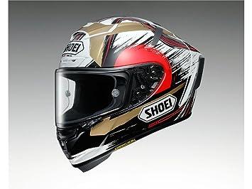 Shoei X-Spirit 3 Marquez II Motegi TC1 Casco del motociclo Taglia XS