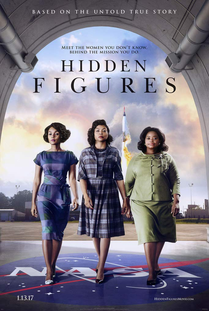 """Hidden Figures (NASA) Movie Poster - Size 11"""" X 17"""" - This is a Certified Poster Office Print with Holographic Sequential Numbering for Authenticity."""