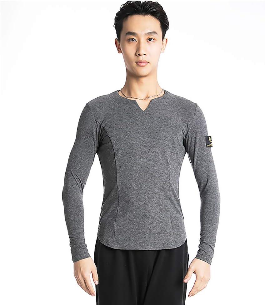 Cheng Peng Vestido de Baile Corporal. Camisa de Baile Latino. Ropa de práctica para Hombres. Ropa de Baile.: Amazon.es: Deportes y aire libre