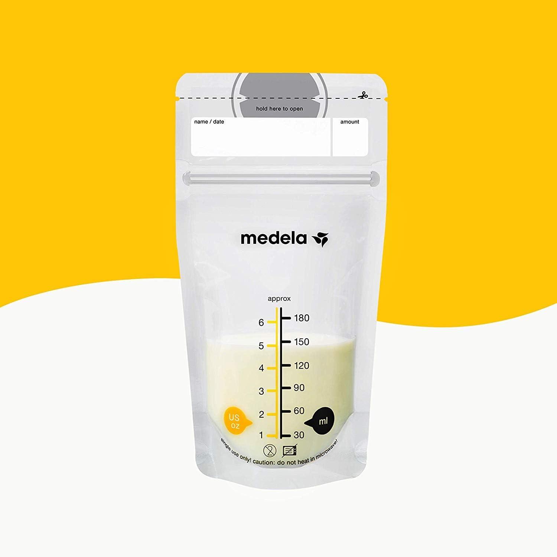 Medela Sacs pour le stockage du lait maternel 25 blanc