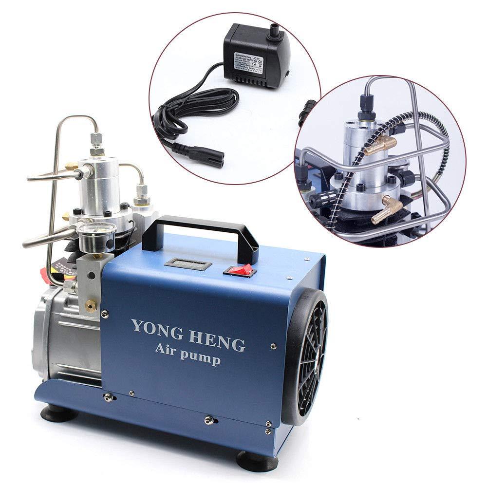 0-30Mpa Haute Pression 2800rpm Air /Électrique Pompe Compresseur Pour Pneumatique Airgun 220V 1.8KW PCP Pompe /à air haute pression