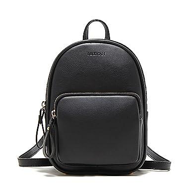 Women Leather Backpack Fashion Casual Purse Travel Daypacks Ladies Cute Mini  Korean School Bags for Girls 337b44d6c844d