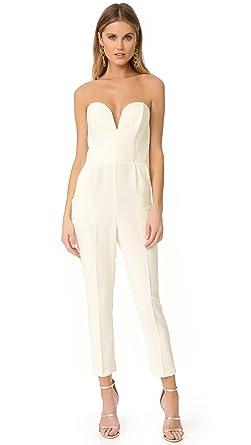 05d25d77fa42d6 Amazon.com  Amanda Uprichard Women s Cherri Jumpsuit  Clothing