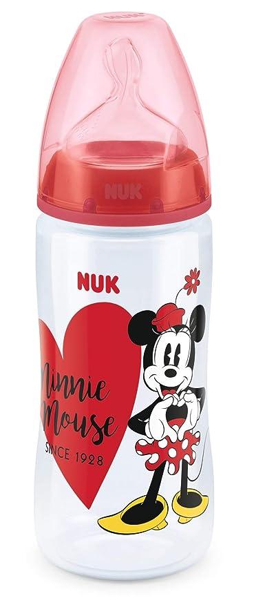 Juego de iniciaci/ón de biberones NUK 10225251 NUK Disney Mickey Mouse First Choice multicolor 4 biberones antic/ólicos 459 g 2 x 150 ml y 2 x 300 ml