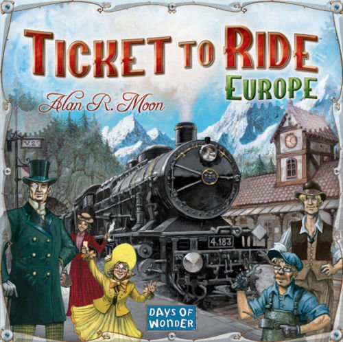 Ticket To Ride Europe Strategy Board Game by Europe