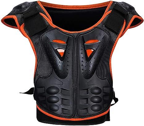 Rennicoco Kinder Brustwirbelsäule Schutz Körper Rüstung Weste Schutzausrüstung Für Dirt Bike Motocross Snowboard Skifahren Küche Haushalt