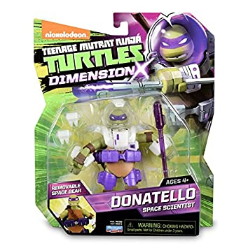 Tortugas Ninja - Figura Donatello x 4 (TUA02101): Amazon.es ...