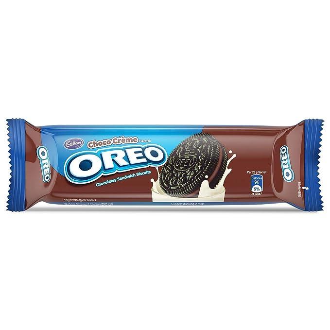 Oreo Cadbury Chocolate Cream Biscuit, 120g