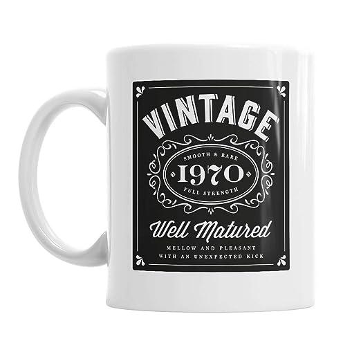 50th cumpleaños, 50th regalo de cumpleaños, de Bourbon, 50th ...