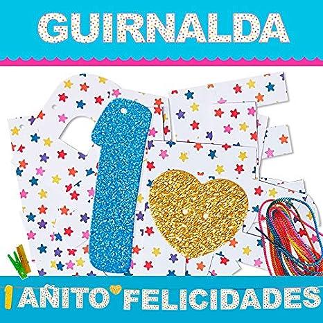 Inedit Festa - Cumpleaños Guirnalda 1 Añito Felicidades ...