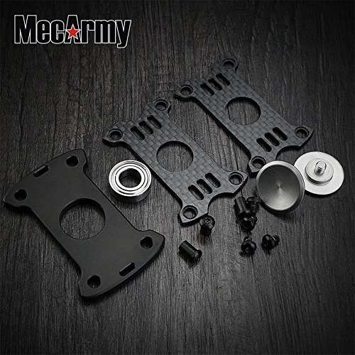 GP1 Titanium Fidget Spinner, Hand Excise, Relieves Stress and Anxiety, MecArmy (black) by MeCarmy (Image #9)