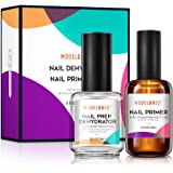 Modelones Professional Natural Nail Prep Dehydrate & Bond Primer, Nail Protein Bond, Superior Bonding Primer for Acrylic…