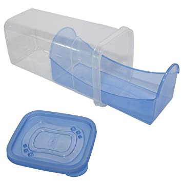 Cracker U0026 Biscuit Storage Container With Sliding Drawer