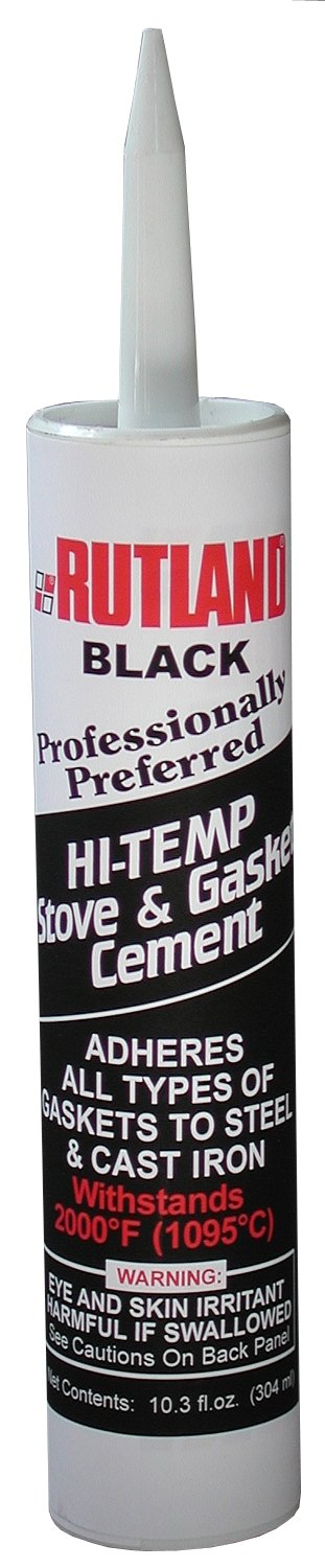 Rutland Stove Gasket Cement Black 10.3 Oz Cartridge - 78