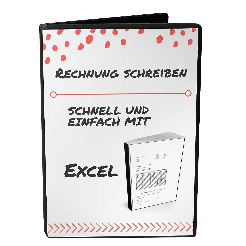 Rechnung Schreiben Einfach Und Simpel Mit Excel Amazonde Handmade