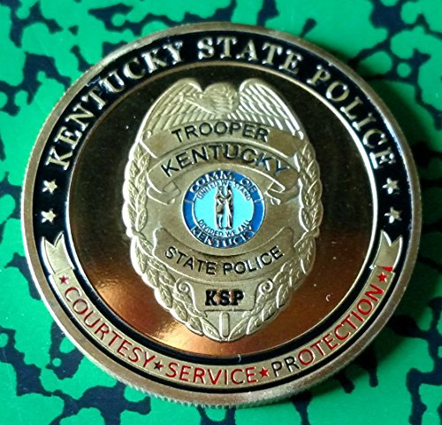 (Kentucky State Police Challenge Art Coin)