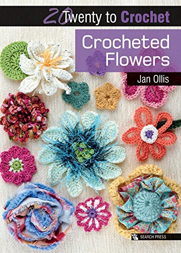 Search Press Books-20 To Make - Crocheted Flowers (Twenty to Make)