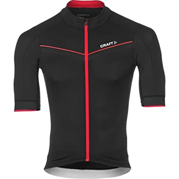 67f98d10d Craft Aero Tech Men s Cycling Jersey 9430 black-red Size Large ...