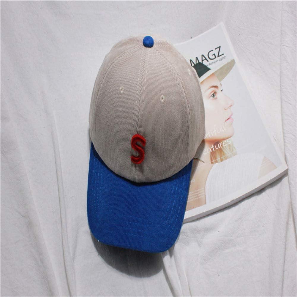 sdssup Costura en Contraste Color Polvo Pato Gorra de béisbol Piel ...