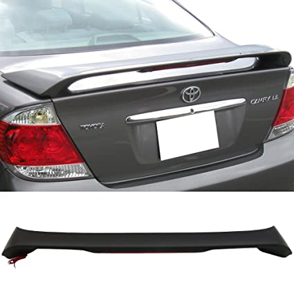 amazon com trunk spoiler fits 2002 2006 toyota camry oe style abstrunk  spoiler fits 2002 2006
