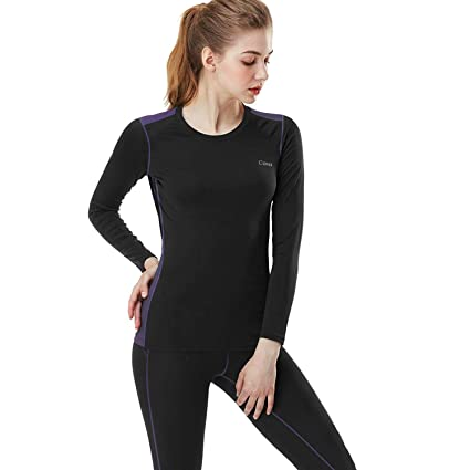 gamme complète de spécifications pourtant pas vulgaire divers styles MEETYOO sous-vêtements Thermiques Femme, Ski sous Vetement ...