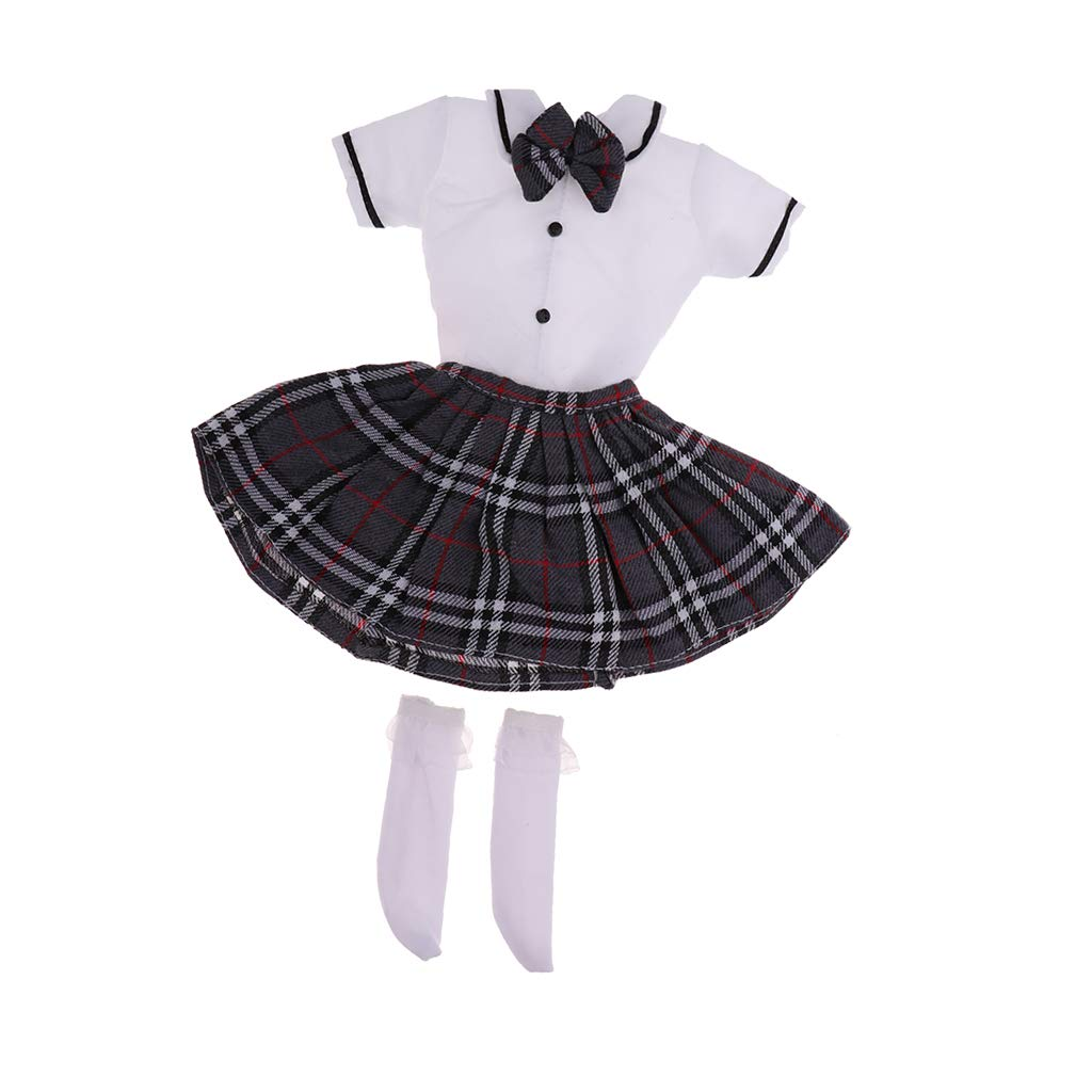 1//3 BJD School Uniform Dress JK Uniform Clothes for  DOD Cosplay Outfit