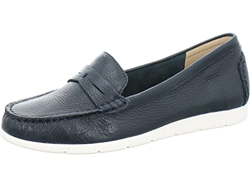 Caprice 99 24651 28 818 - Mocasines de Piel para Mujer: Amazon.es: Zapatos y complementos