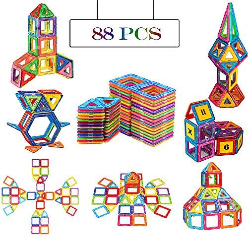 Magnetic Blocks Building Set for Kids, Magnetic Tiles Educat