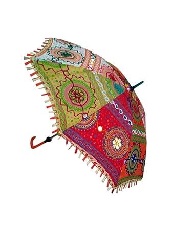 cd281d4ed745b Amazon.com: Handmade Small Stick Folding Umbrella